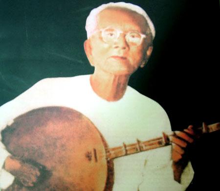 Chân dung nhạc sĩ Cao Văn Lầu