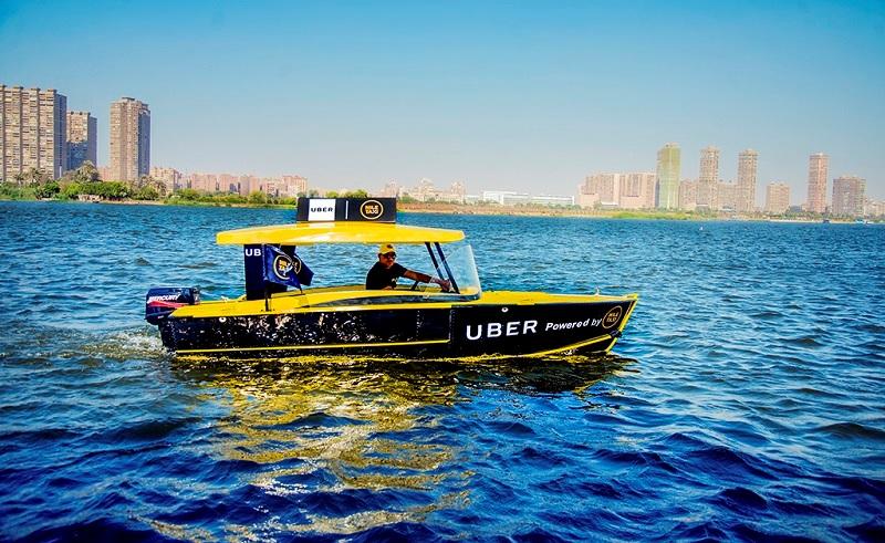 Uber boat Ai Cập