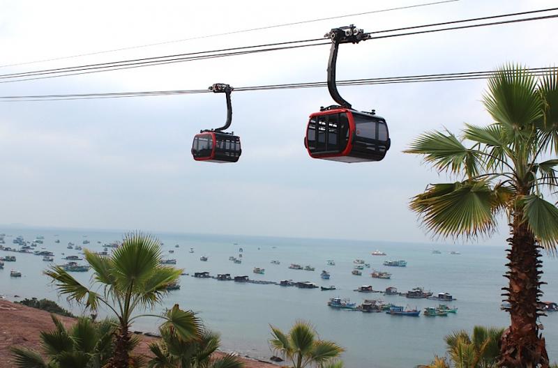 Cáp treo Hòn Thơm – Phú Quốc