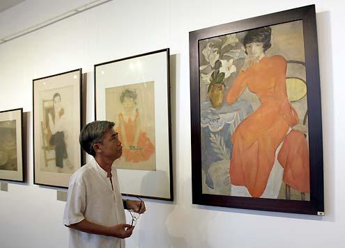 Triển lãm tranh nghệ thuật tại bảo tàng