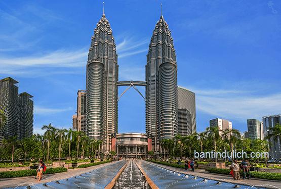 Tháp đôi Petronas Malaysia
