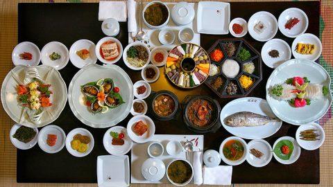 Các món ăn phổ biến trong ẩm thực Hàn Quốc