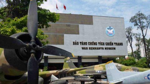 Điểm tham quan Bảo tàng chứng tích chiến tranh TPHCM