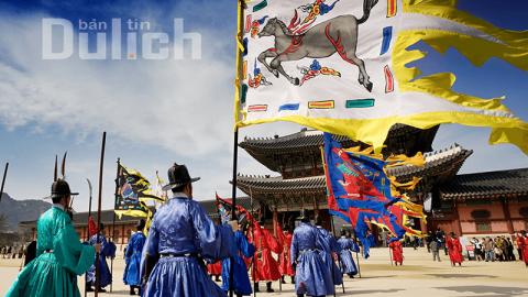 Điểm tham quan Cung điện Gyeongbokgung Hàn Quốc