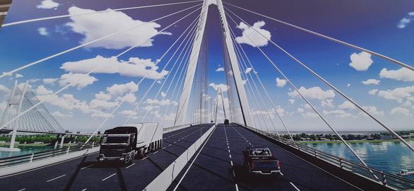 Cầu Mỹ Thuận 2 kết nối liên tuyến cao tốc Trung Lương – Cần Thơ