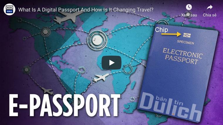 Hộ chiếu điện tử e-passport là gì?
