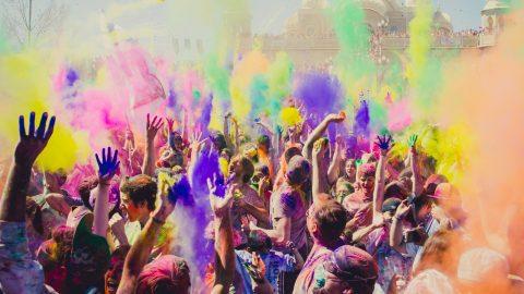 Lễ hội màu sắc Ấn Độ -Lễ hội Holi