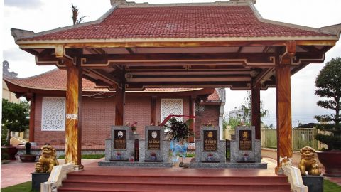 Khu lưu niệm cố nhạc sĩ Cao Văn Lầu