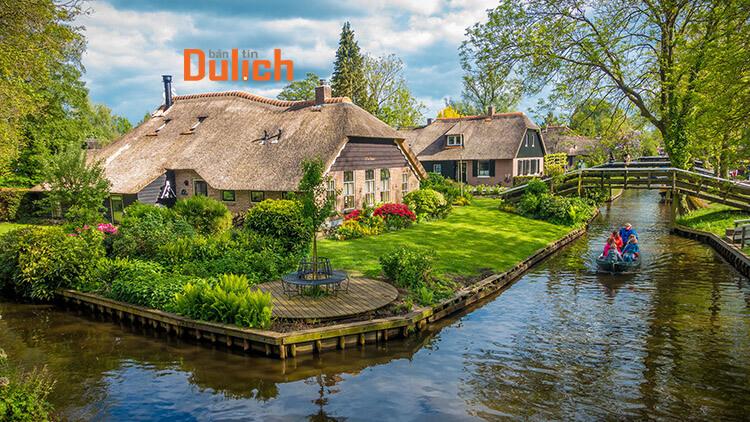 Tham quan Làng Giethoorn Hà Lan