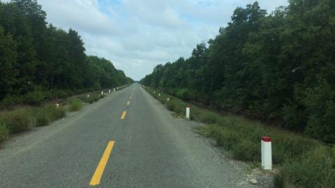 Mũi Cà Mau nay đã thông xe du lịch 45c vào mùa hè 2017