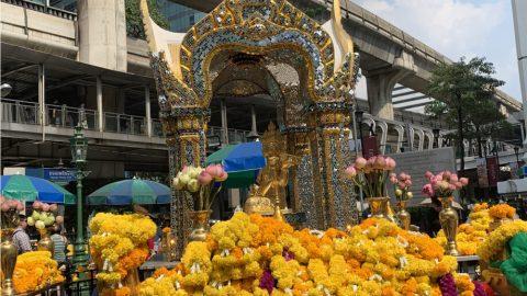 Viếng Phật 4 mặt tâm linh nổi tiếng tại Bangkok