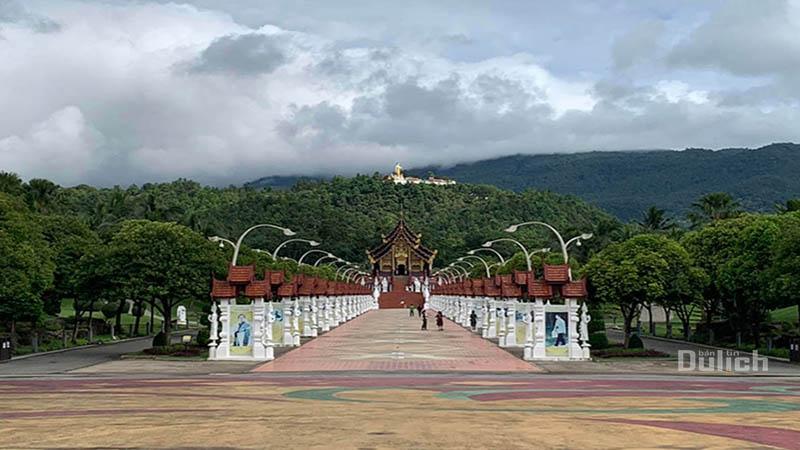 Tham quan vườn hoa Hoàng Gia Royal Flora Chiang Mai Thái Lan